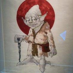 Yoda croquis