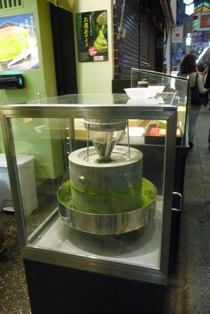 Une préparation au thé vert