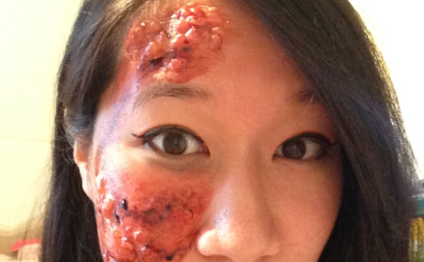 Makeup Halloween part 2 (Tinsley FX transfers)