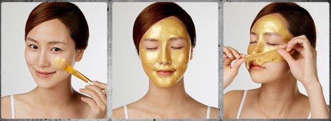 K mask gold