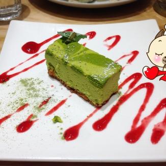 Cheesecake matcha !!!